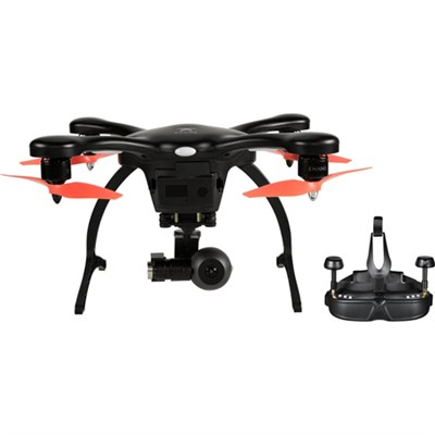 GhostDrone 2.0 VR Android - Black/Orange 1 Year Crash Coverage Included