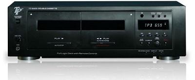 Professional Double Cassette Deck (Black)