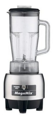 Brushed Stainless Steel MegaMix Commercial Bar Blender (HPB300)