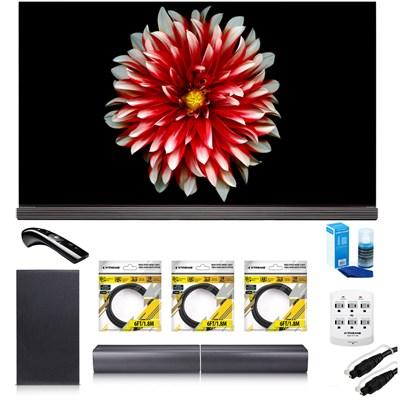 65` Signature OLED 4K HDR Smart TV OLED65G7P w/LG SJ7 Wireless Sound Bar Bundle