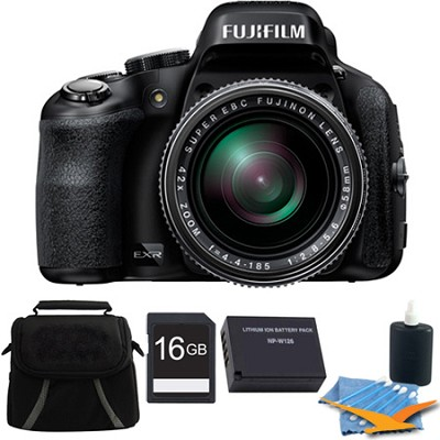 FinePix HS50EXR 16GB Digital Camera Kit
