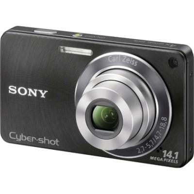 Cyber-shot DSC-W350 14.1 MP Digital Camera (Black) - REFURBISHED