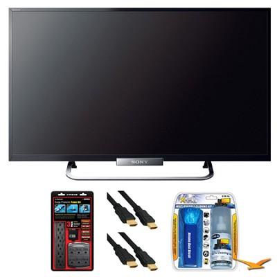 KDL-32W650A 32` LED W650A Series Internet HDTV Surge Protector Bundle