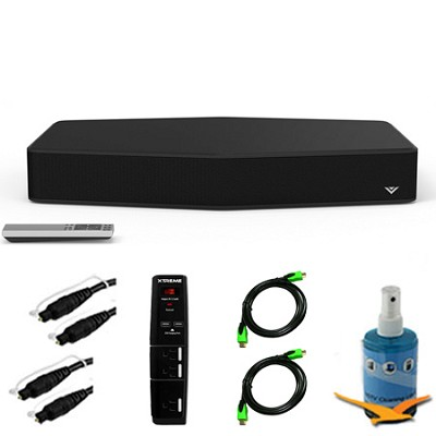 S2121w-D0 - 21` 2.1ch Sound Stand with Subwoofer & Bluetooth Plus Hook-Up Bundle