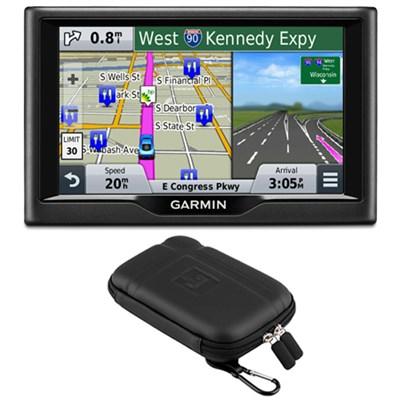 nuvi 58 5` Essential Series 2015 GPS Navigation System US & Canada Case Bundle