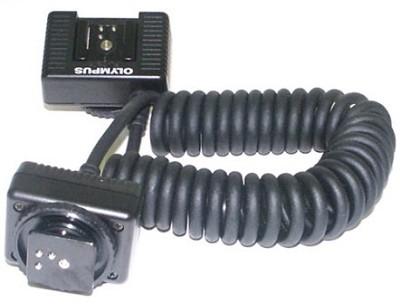 FL-CB05 Hotshoe to  Hotshoe TTL Flash Cable  (1M) for Olympus Digital SLR's