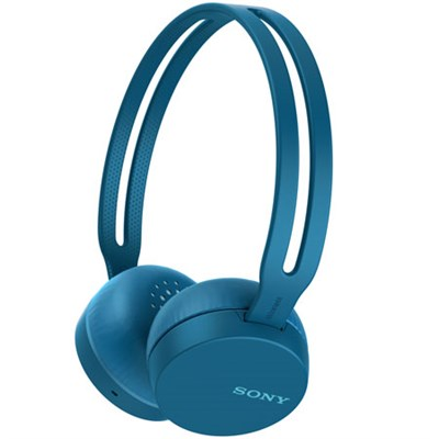 WH-CH400/L Wireless Headphones with Bluetooth, Blue (WHCH400/L)