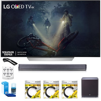 65` C7 OLED 4K HDR Smart TV OLED65C7P w/LG SJ9 Hi-Resolution Sound Bar Bundle