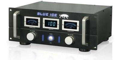 TP Pro Blue Ice 4U Amplifier W/ Multi Meters (Blk)