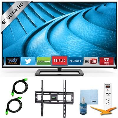 P602ui-B3 - 60-Inch 240Hz 4K Ultra HD LED Smart TV Plus Mount & Hook-Up Bundle