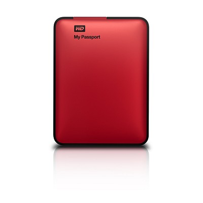 My Passport 500 GB USB 3.0 Portable Hard Drive - WDBKXH5000ARD-NESN (Red)