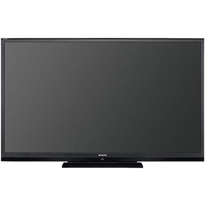 LC60LE600U Aquos 60` Class 1080p 120Hz Slim LED HDTV - Factory Refurbished