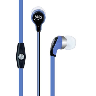 RX12P In-Ear Headphones with Inline Microphone - Blue