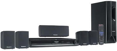 SC-PT464 - 5.1-channel DVD Home Theater System