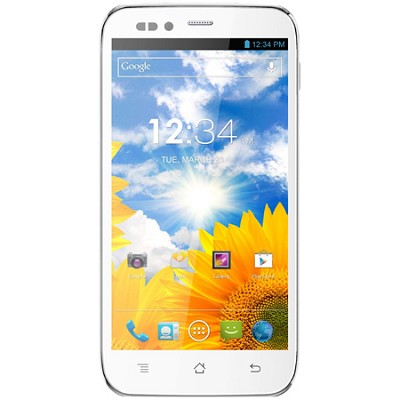Studio 5.0 S 5-Inch 3G Android 4.1 Jelly Bean Unlocked Cell Phone (White)