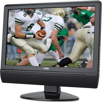 15.4` ATSC Digital TV/Monitor with DVD Player & HDMI Input
