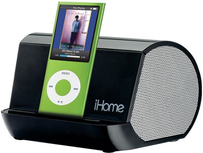 iHM9 Portable Stereo System for iPod, iPhone, and MP3 Players (Black)
