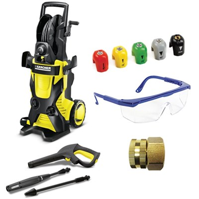 K4 Premium X-Series 1900 PSI Electric Pressure Washer Deluxe Accessory Bundle