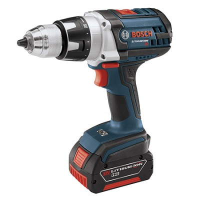 DDH181-01 18V Brute Tough Lithium Ion Drill/Driver w/ 2 Fat Pack Batteries