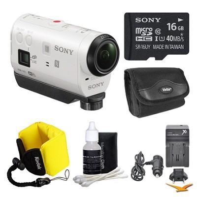 HDR-AZ1/W POV HD Camcorder 16GB Bundle