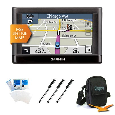 nuvi 42LM 4.3` GPS Navigation System w/ Lifetime Map Updates Essentials Bundle