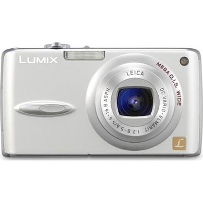 DMC-FX01 (Silver) Lumix 6 MP Digital Camera w/ 3.6x Optical Zoom-OPEN BOX