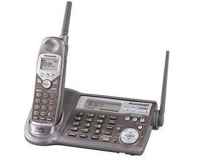 NEW! KX-TG5100M 5.8 GHz Expandable Cordless Phone System