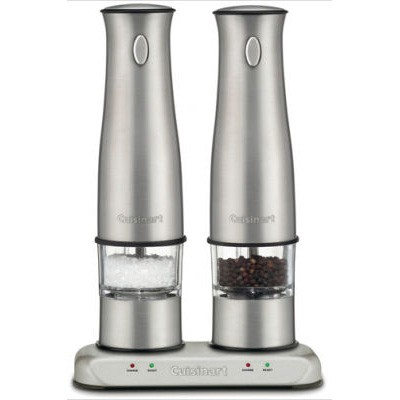 SP-2 Stainless-Steel Rechargeable Salt and Pepper Mills