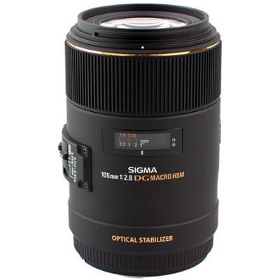 105mm F2.8 EX DG OS HSM Macro Lens for Canon EOS DSLR (258-101)
