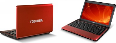 Satellite 13.3` Notebook Computer - Red (L635-S3010)