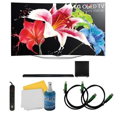 55EC9300 - 55-Inch 1080p Smart 3D OLED + NB5541 Sound Bar Bundle