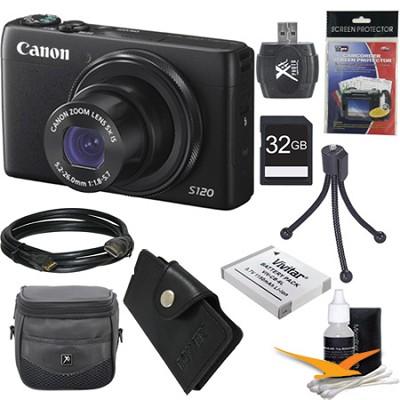 PowerShot S120 12.1MP Digital Camera Ultimate Kit