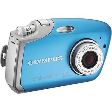 Stylus Verve Digital Camera (BLUE)