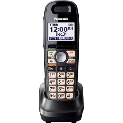 KX-TGA659T Dect 6.0 accessory handset with Easy to See LCD