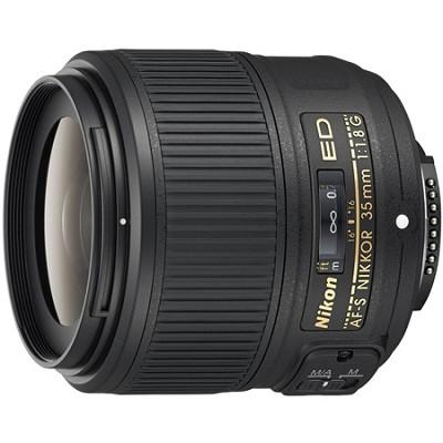 AF-S NIKKOR 35mm f/1.8G ED Lens - OPEN BOX