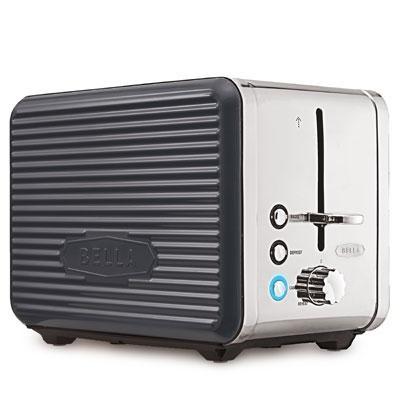 Linea 2 Slice Toaster Grey
