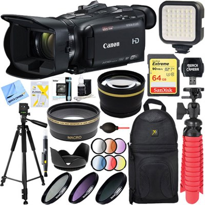 VIXIA HF G40 Camcorder w/ 20x High Definition Zoom Lens + 64GB Deluxe Video Kit