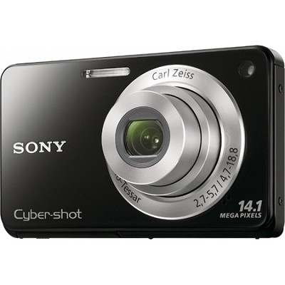 Cyber-shot DSC-W560 Black Digital Camera - OPEN BOX