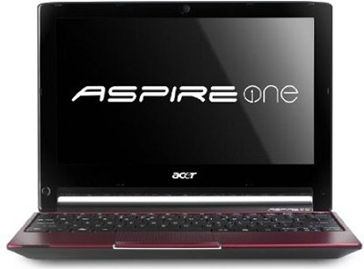 Aspire AO533-23096 10.1-Inch Netbook (Glossy Red)