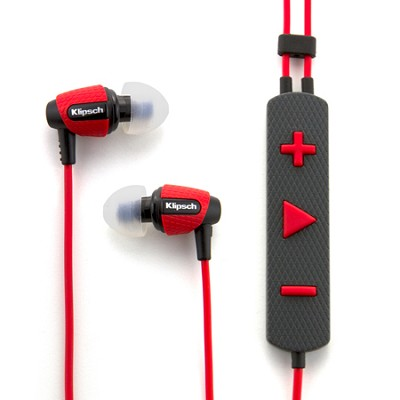 Image S4i Rugged Red In-Ear Headphones