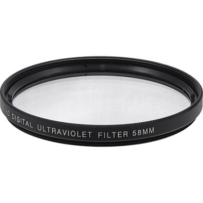58mm Multicoated UV Protective Filter--offers lens protection & clearer pictures