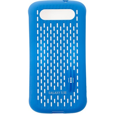 Galaxy S III Coin Stand Case - Blue