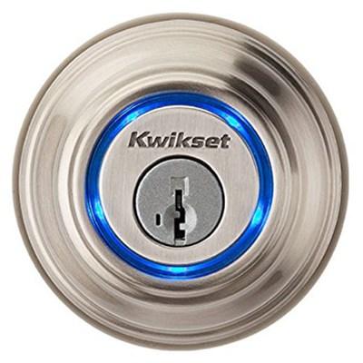 925 Kevo Single Cylinder Bluetooth Enabled Deadbolt Satin - OPEN BOX