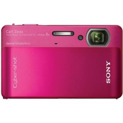 Cyber-shot DSC-TX5 10.2 MP Digital Camera (Red) - OPEN BOX