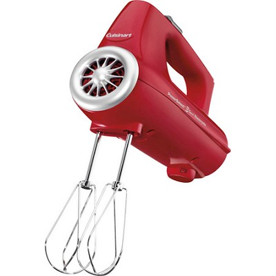 PowerSelect 3-Speed Electronic Hand Mixer - Red