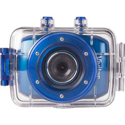 HD Action Waterproof Camera / Camcorder - Blue DVR781HD-BLU