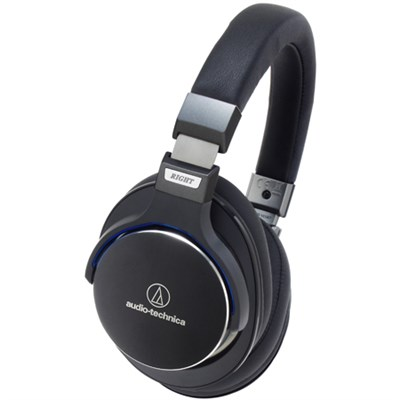 SonicPro Over-Ear High-Resolution Audio Headphones - Black Certified Refurbished