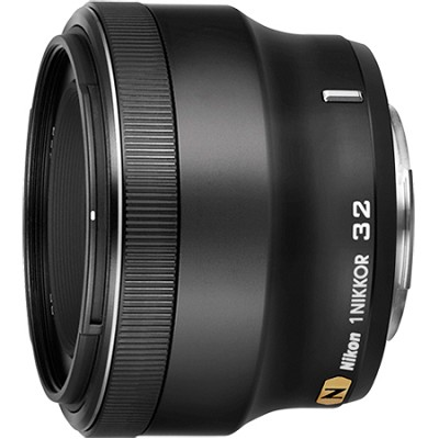 1 NIKKOR 32mm f/ 1.2 Lens (Black)