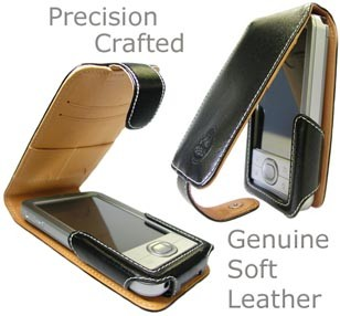 Elegant slim soft Leather Case for Palm LifeDrive