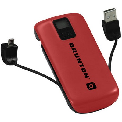 Metal 4400 mAh, 3x Charges (Red) - F-METAL-RD